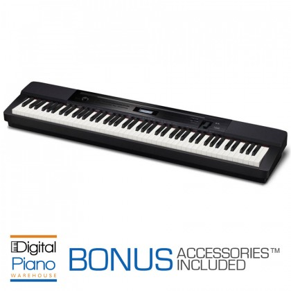 Casio PX350 Digital Piano - Black
