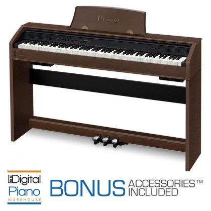Casio PX750 Digital Piano - Brown