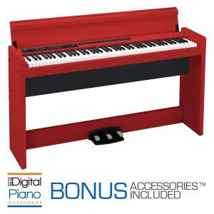 Korg LP380 Digital Piano - Red