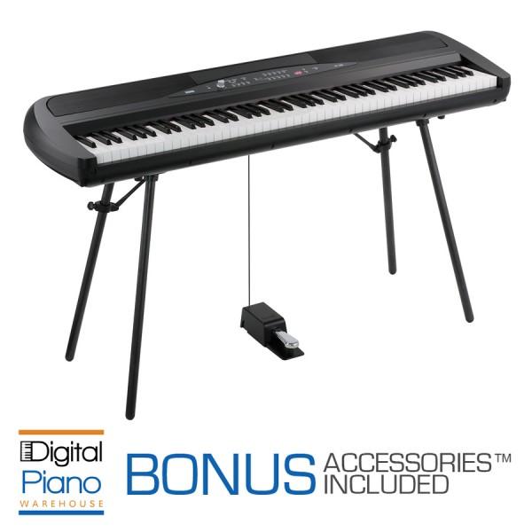 korg sp280 digital piano black. Black Bedroom Furniture Sets. Home Design Ideas