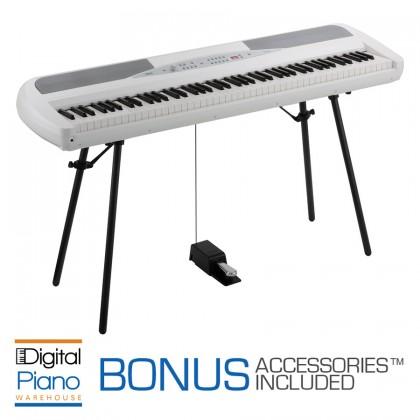 Korg SP280 Digital Piano - White