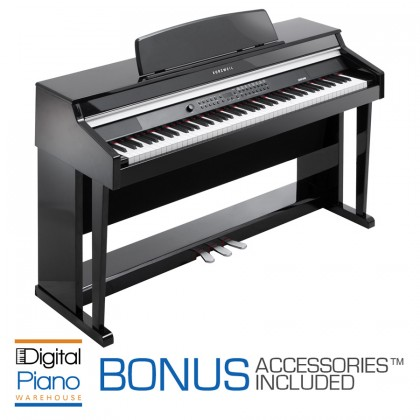 Kurzweil MP-20 Digital Piano - Ebony Polish