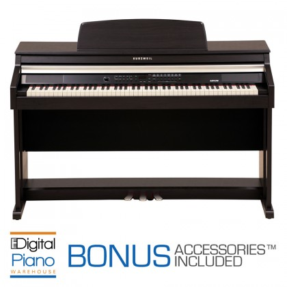 Kurzweil MP-20 Digital Piano - Rosewood