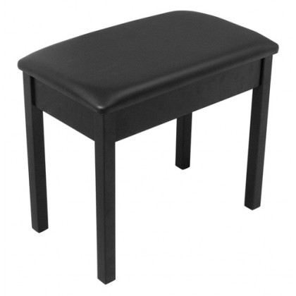 On-Stage KB8802 Wooden Piano Bench - Black