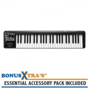 Roland A-49-BK MIDI Controller Keyboard - Black