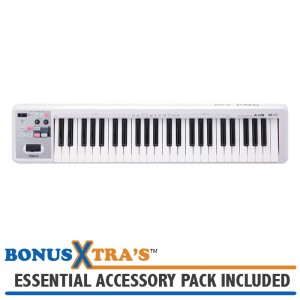Roland A-49-WH MIDI Controller Keyboard - White