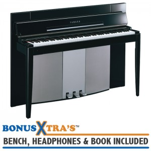 Yamaha F11 MODUS Digital Piano - Polished Ebony
