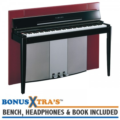 Yamaha F02 MODUS Digital Piano - Polished Red
