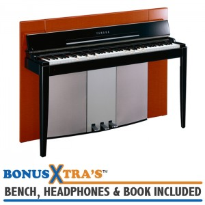 Yamaha F11 MODUS Digital Piano - Polished Orange