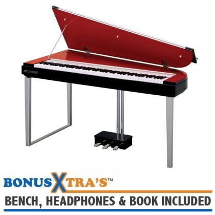 Yamaha H01 MODUS Digital Piano - Velvet Rouge