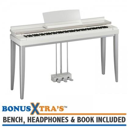 Yamaha R01 MODUS Digital Piano - White