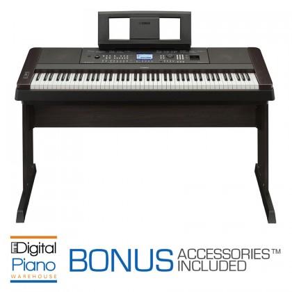 Yamaha DGX-650 Digital Piano - Black
