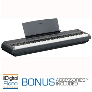 Yamaha P105 Digital Piano - Black