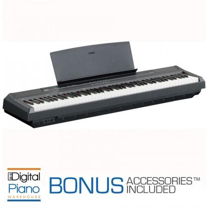 Yamaha P105 Digital Piano - Black