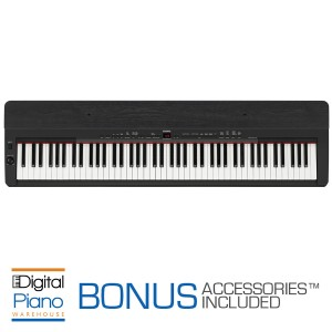 Yamaha P155 Digital Piano - Black/Ebony