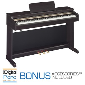 Yamaha YDP162 Home Piano - Dark Rosewood