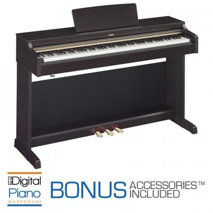 Yamaha YDP162 Home Piano - Dark Rosewood
