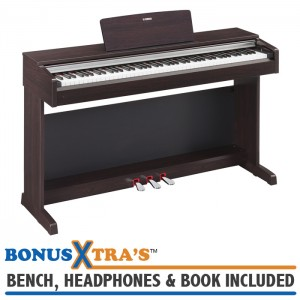 Yamaha YDP142 Home Piano - Dark Rosewood