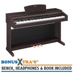 Yamaha YDP181 Home Piano - Rosewood