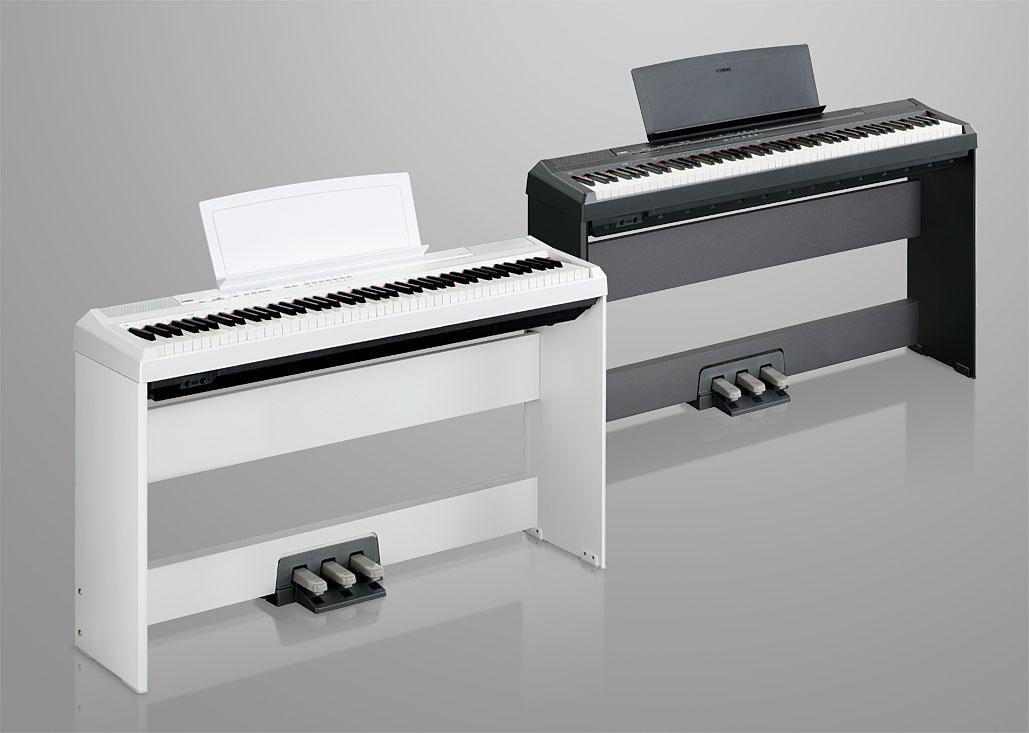 Yamaha p105 digital piano black for Yamaha digital piano controller